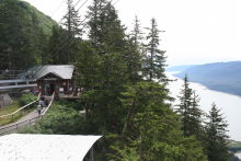 Nature Center on Mount Roberts at Juneau, Alaska
