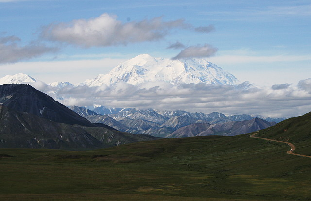 Denali (Mt. McKinley), from Stony Hill
