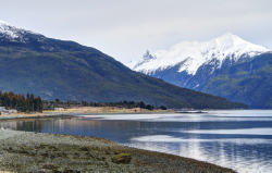 Tanani Bay on Chilkoot Inlet at Haines, Alaska