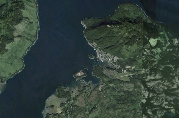 Icy Strait Point Alaska Map.Hoonah Icy Strait Point Alaska A Community Guide By Explorenorth