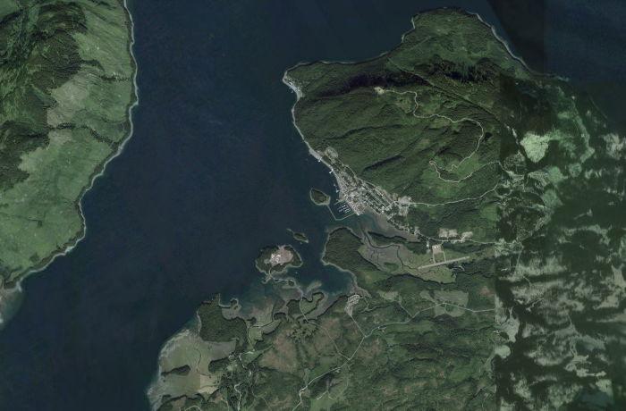 Huna Alaska Map.Hoonah Icy Strait Point Alaska A Community Guide By Explorenorth