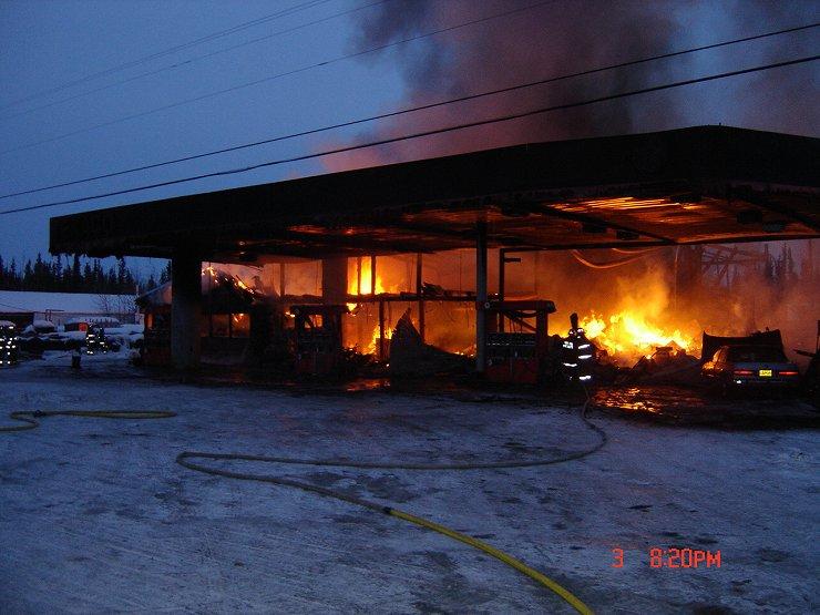 Auto Repair Estimates >> Tok, Alaska - Wadsworth Texaco Burns, April 2007
