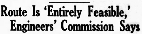 Alaska Route is Entirely Feasible, Engineers' Commission Says - Edmonton Journal - February 25, 1942