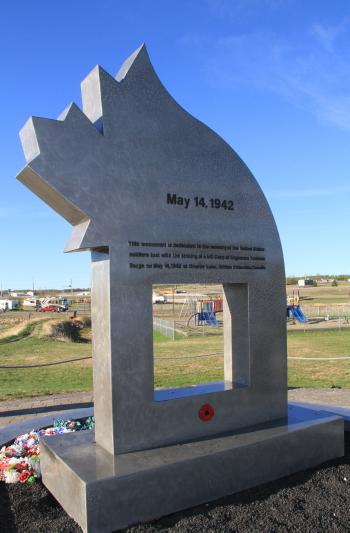 The Charlie Lake Alaska Highway Memorial