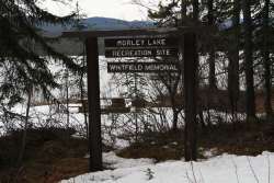 Morley Lake Recreation Site and William Whitfield Memorial, Alaska Highway