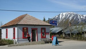 The Historic Post Office at Carcross, Yukon
