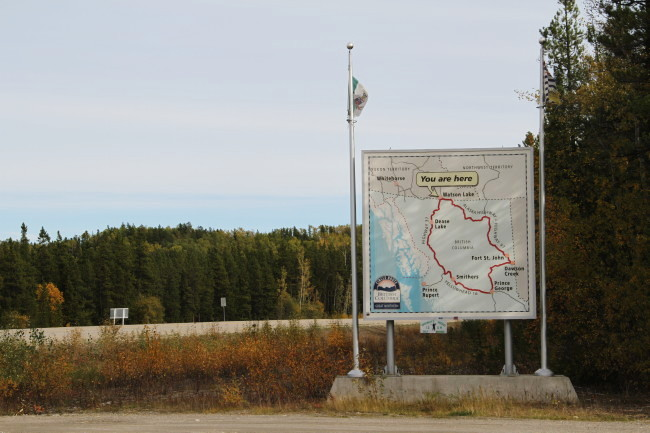 Junction 37 Rest Area, Yukon