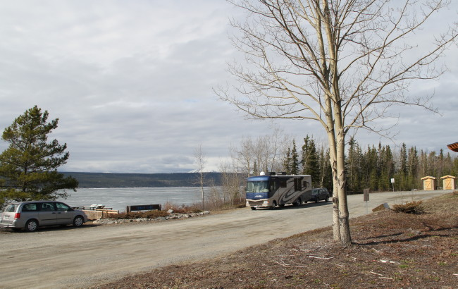 Teslin Lake Viewpoint and Rest Area, Yukon