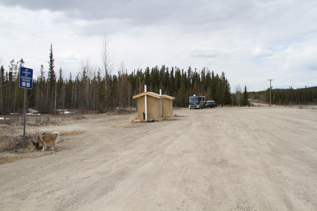 Alaska Highway Km 968.4  Rest Area, Yukon
