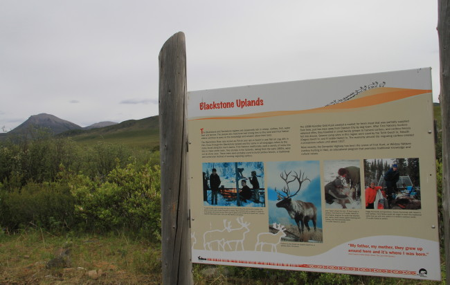 Blackstone River Rest Area, Yukon
