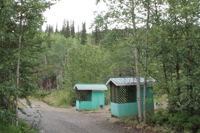 Eagle Rock Rest Area - Robert Campbell Highway, Yukon