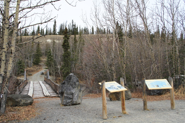 Canyon Creek Bridge Rest Area, Yukon