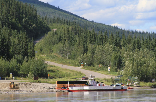 Yukon River Campground, Yukon