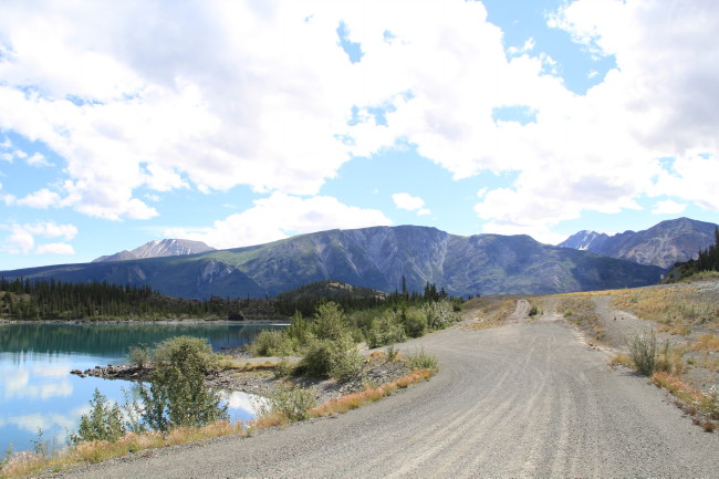 Kluane Lake Boat Launch, Yukon