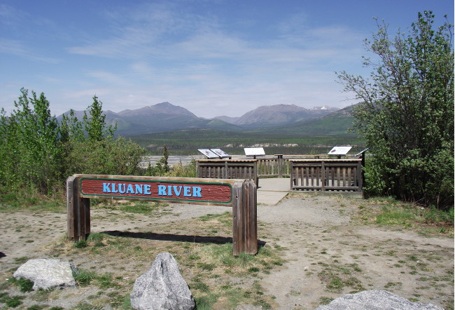 Kluane River Viewpoint and Rest Area, Yukon