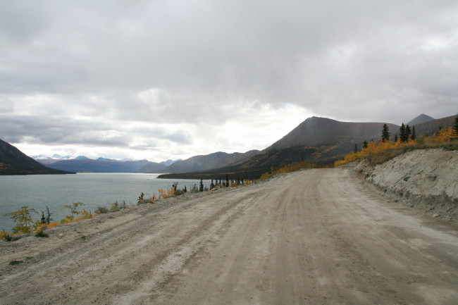 Kusawa Lake Campground, Yukon