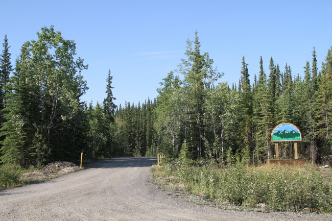Lapie Canyon Campground, Yukon