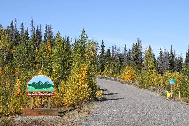 Million Dollar Falls Campground, Yukon