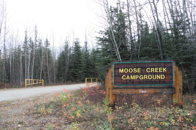 Moose Creek Campground, Yukon