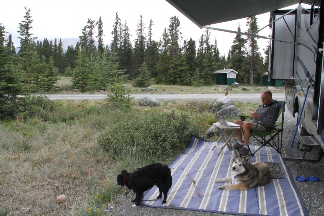 Congdon Creek Campground, Yukon