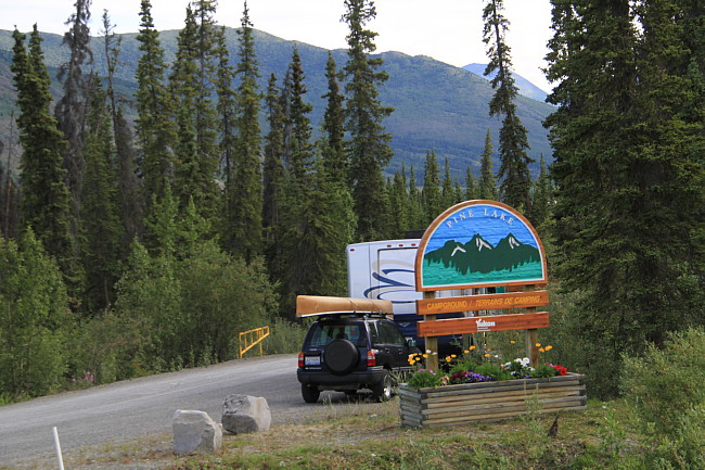 Pine Lake Campground, Yukon