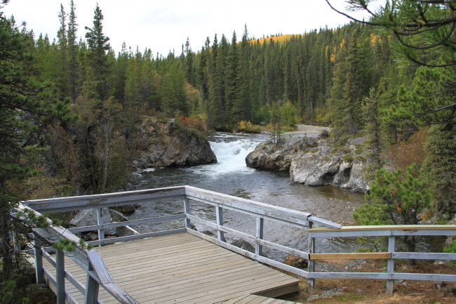 Rancheria Falls Recreation Site, Yukon