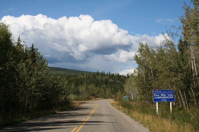 Five Mile Lake Campground, Yukon