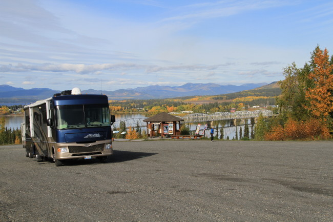 Teslin Viewpoint and Rest Area, Yukon