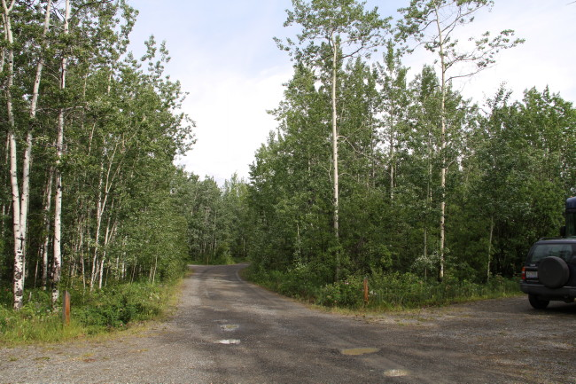 Teslin Lake Campground, Yukon