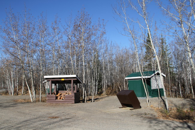 Twin Lakes Campground, Yukon