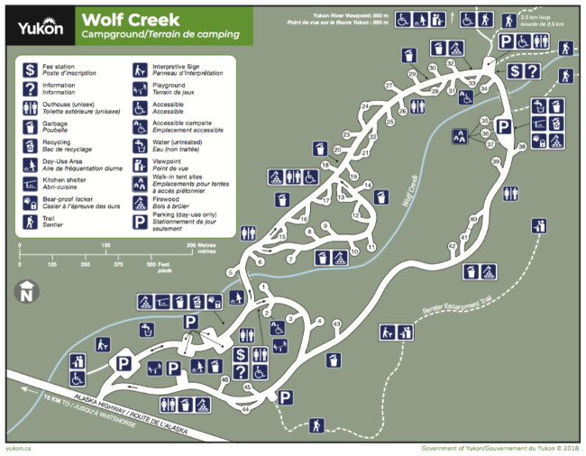 A Guide to Wolf Creek Campground, Yukon on