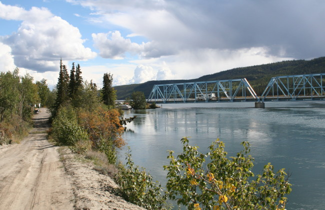 Yukon River Bridge Rest Area, Yukon