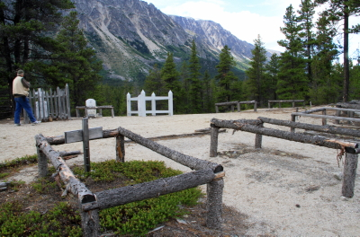 The Cemetery at Bennett, BC