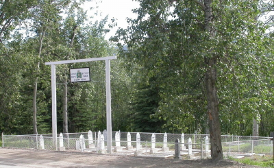 The RCMP Cemetery at Dawson City, Yukon
