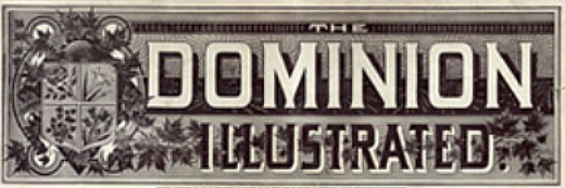 Masthead - 'Dominion Illustrated' magazine, 1890