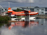 N10704: 1954 de Havilland DHC-3 Turbo Otter at Lake Hood, Anchorage, Alaska