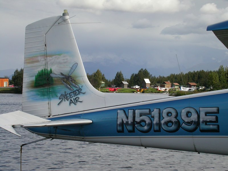 N5189E: Cessna 180B at Lake Hood, Anchorage, Alaska