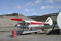 C-FCBJ: Piper PA-22-150 Tri-Pacer on floats