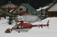 C-FTHD - Bell 407 helicopter
