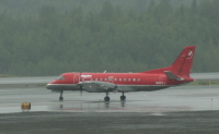 N110XJ: Saab 340A at Anchorage, Alaska