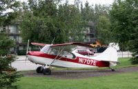 N1707E: 1946 Aeronca 7DC at Fairbanks, Alaska