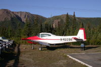 N4509K: 1948 Ryan Navion at Denali, Alaska