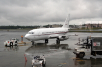 N733PA: 1986 Boeing 737-205 in Anchorage, Alaska