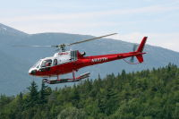 N802TH: Eurocopter AS-350B-2 at Skagway, Alaska