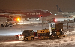 Mushers prepare to fly home after the 2012 Arctic Winter Games