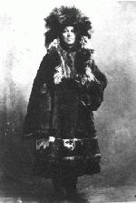 Mrs. Frances Gillis in Dawson City, Yukon