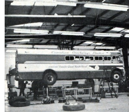Canadian Coachways' Custom 'Bruck' Bus-Truck