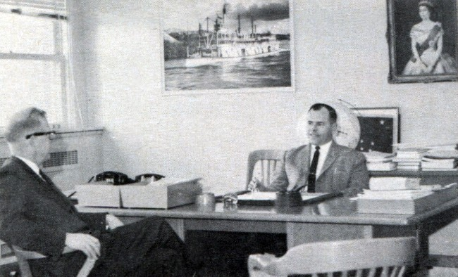 Former Yukon Commissioner Gordon R. Cameron Appointed Coachways Executive, 1966