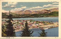 Postcard of Seward, Alaska