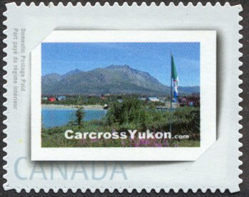 Carcross postage stamp